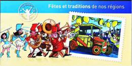 Carnet 2011 La France Comme J´aime - Fêtes Et Traditions De Nos Régions 2 - Sin Clasificación