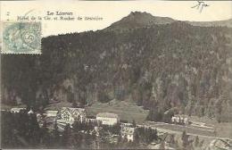 CPA De LE LIORAN - Hôtel De La Cie Et Rocher De Bésivière. - Francia