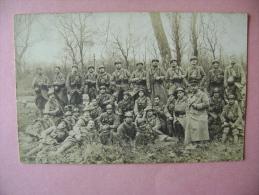 CARTE PHOTO   MULHOUSE   MILITAIRES - ECRITE EN 1921 - Mulhouse