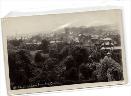 1 Postcard England Yorkshire Conisboro From The Castle - Inglaterra