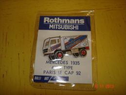 PIN'S MERCEDES 1935 4X4 TYPE PARIS LE CAP 92 - Mercedes
