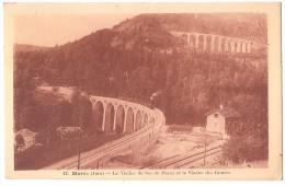 Dépt 39 - MOREZ - Le Viaduc Du Bas De Morez Et Le Viaduc Des Grottes (Viaduc Des Crottes) - Train - Morez
