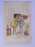 """BOURET  GERMAINE  M.S PARIS ENFANTS BISOUS """"FAIS ATTENTION T ENLEVES MA POUDRE! """" - Bouret, Germaine"""