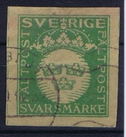Sweden: Army Stamp Nr 5 1939 - 1942 Used - Militari