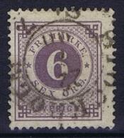 Sweden: 1886 Mi Nr 33  Used Facit 44