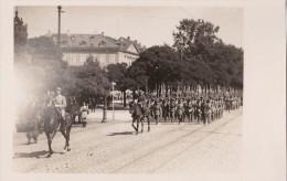 Carte Photo D'un Défilé Militaire à Coblence Le 14 Juillet 1929 - Régiments