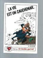 R935 -VIGNETTE VACHE QUI RIT - GASTON LAGAFFE - M BOULIER - Gaston