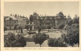 Belfort - Monument Des 3 Sièges Et Préfecture - Belfort – Siège De Belfort