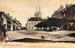 Bourbon Lancy   20          Place De L'hôtel De Ville  . - France