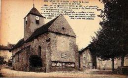 Leynes    50        Eglise De Leynes ( Sous Vocable De St Vital )  . - Autres Communes