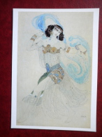 Painting By Léon Bakst , Salome , 1908 - Oriental Dancer - Russian Art - Unused - Paintings