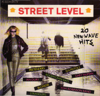 * LP *  STREET LEVEL (20 New Wave Hits) - SEX PISTOLS / STRANGLERS / IAN DURY / BLONDIE A.o. - Punk