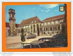 CPA CARTE POSTALE POSTAL POSTCARD PORTUGAL Classic Automobiles COIMBRA UNIVERSITÉ UNIVERSITY & CLAASIC CAR CARS 1960s - Coimbra