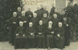 CARTE PHOTO PRETRES UNION APOSTOLIQUES AOUT 1936 RELIGION - Religions & Croyances