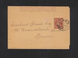 Natal Wrapper 1899 To Germany - Afrique Du Sud (...-1961)