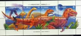 SAINT VINCENT Grenadines  Animaux Prehistoriques. (YVERT 2251/2258)  **Faune Préhistorique Prehistoric Animals - Prehistorics