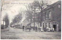 Bouwel, De Lindekens. - Bij Vict. De Vos. Afspanning  TOP KAART 1912
