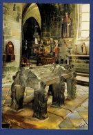 29 LOCRONAN Tombeau De Saint Ronan Et L'intérieur De L'Eglise XVe Siècle - Locronan