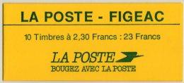 C291 : Carnet , Briat , No 2614-CP 1 FIGEAC Signé Calves Cote 530€ - Carnets