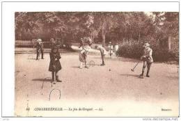 CONTREXEVILLE ENFANTS JOUANT AU CROQUET,BEAU PLAN REF 15294 - Jeux Et Jouets