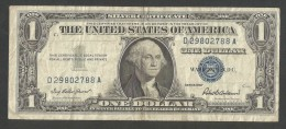 U.S.A. SILVER CERTIFICATE - 1 DOLLAR (SERIES 1957 - The Last Year) - Certificati D'Argento (1928-1957)