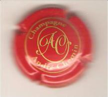 CAPSULE MUSELET CHAMPAGNE ANDRE CHEMIN (or Sur Rouge) - Champagne