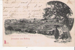 JERUSALEM VOM OELBERG 13989       (1903) - Israele