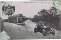72 - Circuit De La Sarthe 1906 (Le Mans) - 17 Virage Des Treize-Vents, Après Saint-Calais - Le Mans