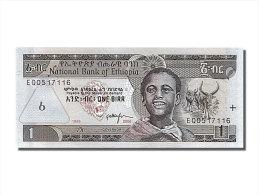 [#253405] Ethiopie, 1 Birr, Type 1997 EE 1989 - Ethiopie
