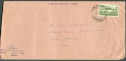 Lettre Affranchie 20ch. Temple Tempel (Simtokha Dzong) De Tashincnho Vers Paro.  Les Lettres Du Bhutan (Boutan) Sont Rar - Bhoutan