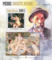 gb13409b Guinea Bissau 2013 Painting Pierre-Auguste Renoir s/s
