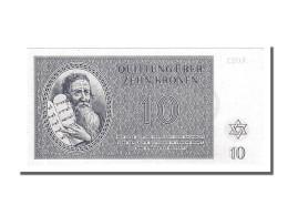 [#153608] Tchécoslovaquie, 10 Kronen Type Billet De Ghetto - Tchécoslovaquie