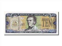 [#302082] Liberia, 10 Dollars Type Joseph J. Roberts - Liberia