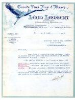 Léon Lambert - Grands Vins Fins D'Alsace à Ammerschwihr Et Kaysersberg - Remiremont (Vosges) - 1934 - Alimentare