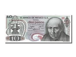 [#253491] Mexique, 10 Pesos, Type M. Hidalgo - Mexique