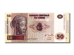 """[#302112] Congo, 50 Francs Type Masque Tshokwe """"Mwana Pwo"""" - Congo"""