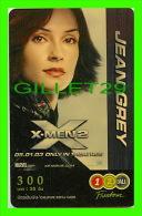 TÉLÉCARTES, THAILANDE - CINÉMA, FILM, X-MEN2 ( JEAN GREY) - 12/2005 - PHONECARDS - - Cinéma