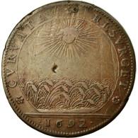 France, Jeton, Royal, 1692, TB, Cuivre, Feuardent:9822 - France