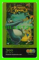 TÉLÉCARTES, THAILANDE - CINÉMA, FILM, THE JUNGLE BOOK 2 - WALT DYSNEY - 6/2005 - PHONECARDS - - Cinéma