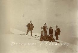 Haute-Savoie - Randonnée CAF Sommet MOLE En 1907, Bonneville, Roche Sur Foron, Viuz En Sallaz - 4 PHOTOS - 3 Scans - Plaatsen