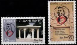 2010 TURKEY YUNUS EMRE MNH ** - Nuevos
