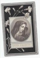 Souvenir Décès Héloïse MASSON épouse Oswald Cloux Barse-Vierset 1898 - Devotion Images