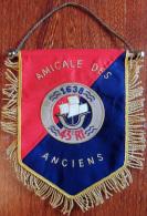 Ancien Fanion Des Anciens Du 43°RI Régiment D'Infanterie ( Cannetille ) - Bandiere