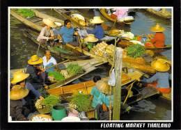 Asie-Thaïlande   THAILAND  The Floating Market At Damnernsaduok In Rajchaburi *PRIX FIXE - Thailand