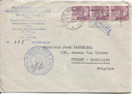 France Marianne De Gandon C.Postes Aux Armées 11/6/54 V.Bruxelles PR336 - 1921-1960: Moderne