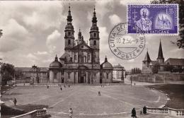 RP, Dom Und Michaelskirche, Barockstadt FULDA (Hesse), Germany, 1956 - Fulda