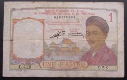 Billet Du Cambodge Du Laos Et Du Vietnam - Cambodia
