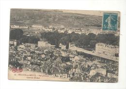 CPA 55 Verdun Vue Générale Casenes Miribel De 1912 - Verdun