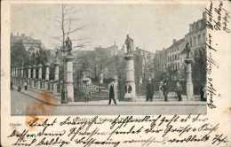 Bruxelles - LSquare Du Petit Sablon / Animé 1899 - Non Classés