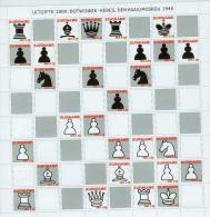Suriname Surinam 2009,10V In Sheetlet,chess,schaken,schach,MNH/Postfris, (L1204u - Schaken
